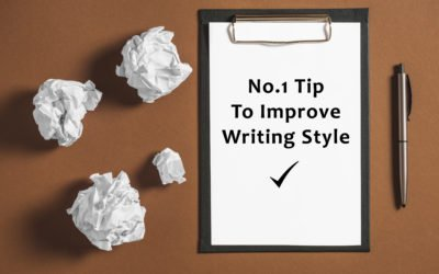 Do This One Thing to Improve Your Writing Style