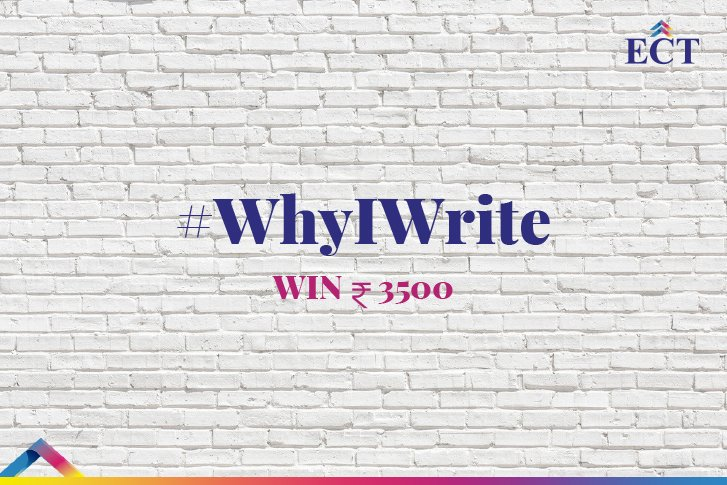 #WhyIWrite Contest – Participate & Win Exciting Prizes