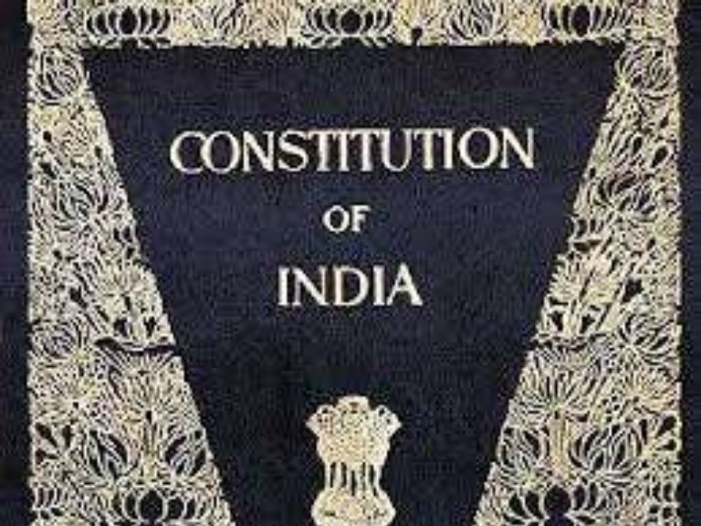 Writers Should Learn From the Constitution of India