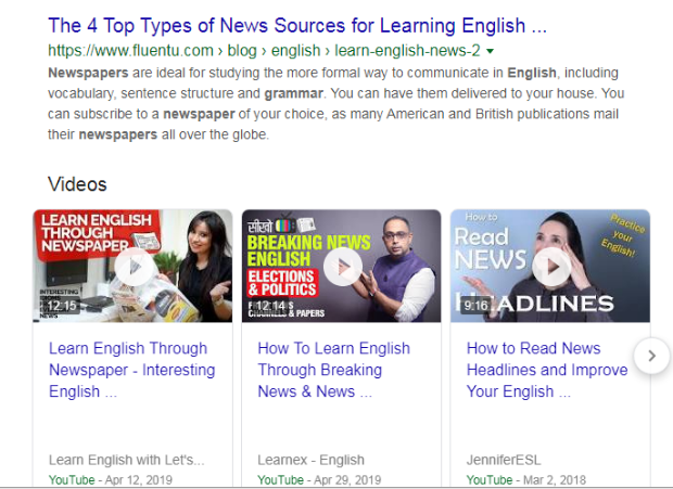 Online news sites