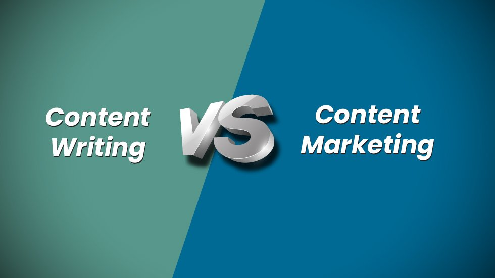 Content Writing v/s Content Marketing