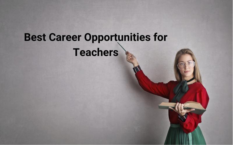 Content Writing - Best Career Opportunities for Teachers